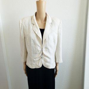 3/$15  Worthingston Womens Linen  Blazer